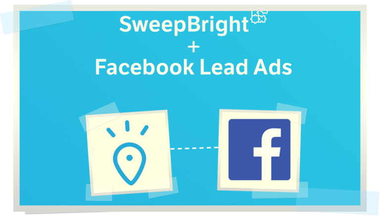 Automation in action : capture leads from social ads with SweepBright + Facebook lead ads